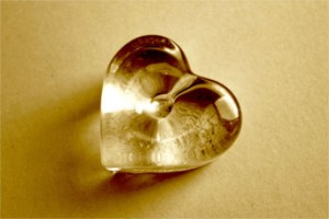 glass heart by quicksandala